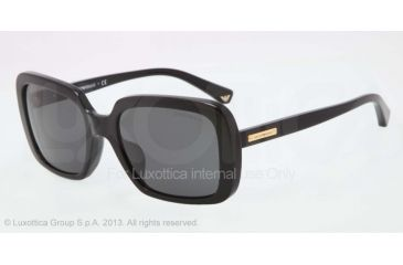 Armani EA4007F Sunglasses 501787-54 - Black Frame, Gray Lenses