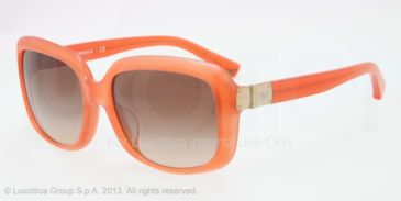 Armani EA4008F Progressive Prescription Sunglasses EA4008F-508313-56 - Lens Diameter 56 mm, Frame Color Opal Coral