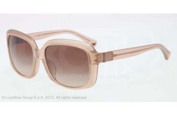 Armani EA4008F Progressive Prescription Sunglasses EA4008F-508413-56 - Lens Diameter 56 mm, Frame Color Opal Brown Pearl