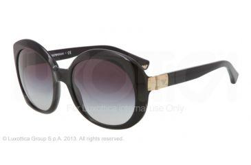 Armani EA4009 Sunglasses 50178G-56 - Black Frame, Gray Gradient Lenses