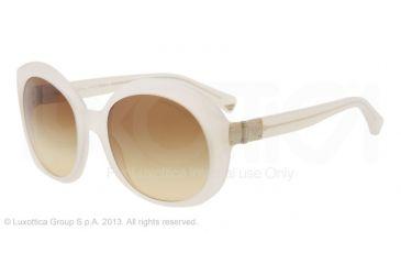 Armani EA4009 Sunglasses 50822L-56 - Opal Beige Frame, Brown Gradient Lenses