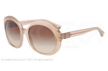 Armani EA4009 Sunglasses 508413-56 - Opal Brown Pearl Frame, Brown Gradient Lenses