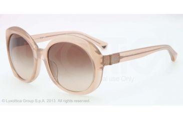 Armani EA4009F Sunglasses 508413-56 - Opal Brown Pearl Frame, Brown Gradient Lenses