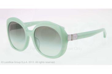 Armani EA4009F Sunglasses 50858E-56 - Opal Aqua Green Frame, Green Gradient Lenses