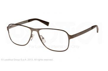Armani Exchange AX1008 Single Vision Prescription Eyeglasses 6030-55 - Satin Olive Frame
