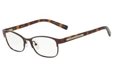 2955c7e8cff1 Armani Exchange AX1010 Eyeglass Frames 6001-53 - Brown Frame