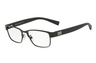 c51630dd3bd Armani Exchange AX1020 Eyeglass Frames 6063-54 - Matte Black Frame