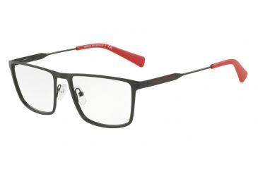 f6db04b02b Armani Exchange AX1022 Single Vision Prescription Eyeglasses 6063-55 - Matte  Black Frame