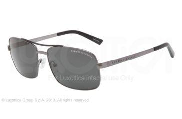 Armani Exchange AX2004 Progressive Prescription Sunglasses AX2004-600687-60 - Lens Diameter 60 mm, Frame Color Gunmetal/Black