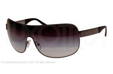 Armani Exchange AX2008 Sunglasses 600311-37 - Gunmetal Frame, Light Grey Gradient Lenses