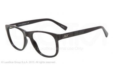 Armani Exchange AX3002 Bifocal Prescription Eyeglasses 8004-51 - Black Frame