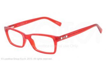 Armani Exchange AX3007 Progressive Prescription Eyeglasses 8036-53 - Samba Transparent Frame