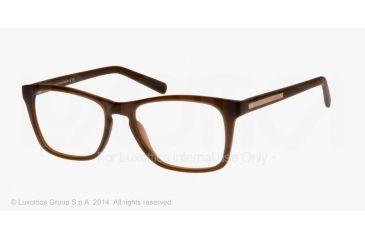Armani Exchange AX3012 Single Vision Prescription Eyeglasses 8083-52 - Matte Phantom Milky Frame