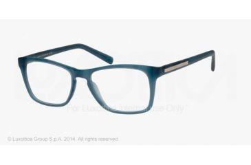 Armani Exchange AX3012 Single Vision Prescription Eyeglasses 8084-52 - Matte Ocean Teal Milky Frame