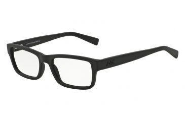 400d841ae4 Armani Exchange AX3023 Eyeglass Frames 8078-53 - Matte Black Frame