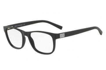 4a46ebcf552 Armani Exchange AX3034 Progressive Prescription Eyeglasses 8078-54 - Matte  Black Frame
