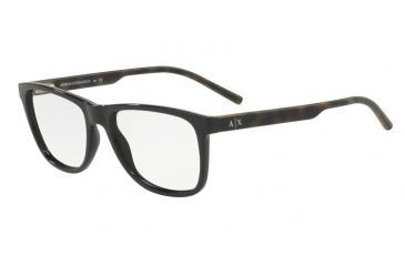 9f2984bb5a6 Armani Exchange AX3048F Progressive Prescription Eyeglasses 8158-56 - Black  Frame