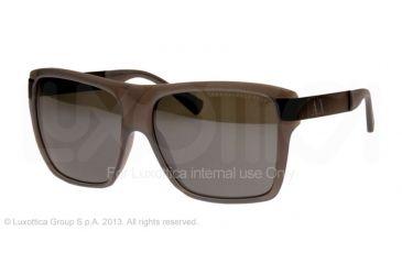 Armani Exchange AX4018 Sunglasses 80476G-59 - Blue Grey Milky Frame, Silver Flash Lenses