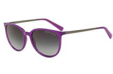 Armani Exchange AX4048S Sunglasses 81718G-56 - Purple Magic Milky Frame,  Grey Gradient Lenses c6ce30e59e