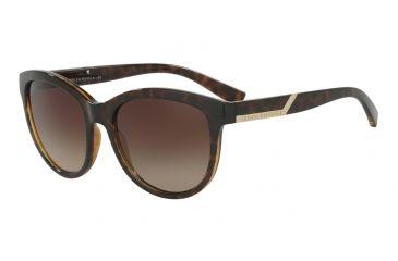 Armani Exchange AX4051S Sunglasses 803713-55 - Havana Frame, Brown Gradient  Lenses 268ab54d58