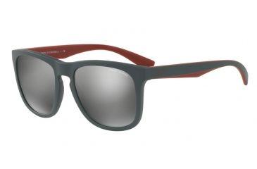 49c483ac2188 Armani Exchange AX4058SF Sunglasses 82006G-55 - Matte Smoked Pearl Frame