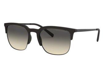 8a9890fcfa Armani Exchange AX4081S Sunglasses 8029L7-54 - Matte Black Frame