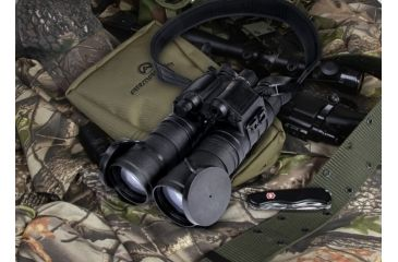 "Armasight Eagle QS Dual Tube 3x Night Vision Binocular Gen 2+ ""Quick Silver"" White Phosphor, Black NSBEAGLE03QGDI1"
