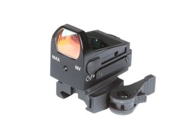 Armasight MCS QR Black Color with Quick Release Mount, Black DAS01XX25MCSBL2