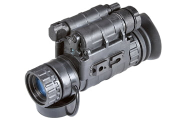 Armasight Nyx14-QS Gen 2+ Night Vision Multi-Purpose 5x2x3 Monocular QuickSilver White Phosphor w/ Free Headgear, 51-72 lp/mm, Black NSMNYG1401H6DE1