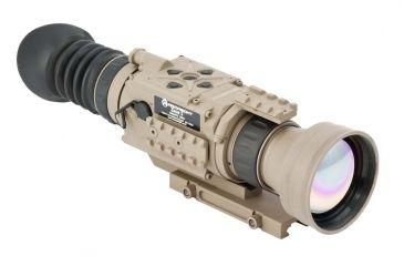 2-Armasight OPMOD Zeus 7 Thermal Imaging 7-14x75 Weapon Sight, FLIR Tau 2 Core, Tan