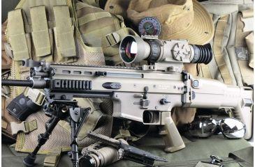 4-Armasight OPMOD Zeus 7 Thermal Imaging 7-14x75 Weapon Sight, FLIR Tau 2 Core, Tan