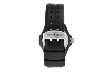 Armourlite Caliber Series Orange Watch With Rubber Band, Black/Orange, Small AL612