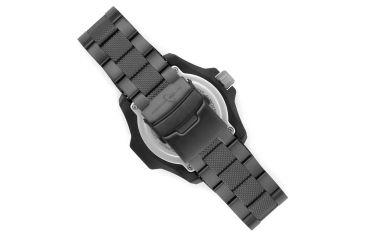 Armourlite Caliber Series Orange Watch With Steel PVD Band, Black/Orange, Small AL622