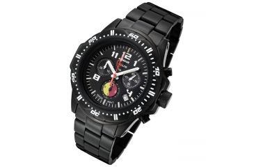 Armourlite FireFighter Edition ShatterProof Scratch Resistant High Impact Glass Watch, Black, Small AL88