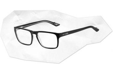 Arnette Arnette Holly Eyeglasses, Top Black On Crystal AN7050-0152BI