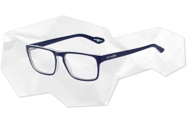 Arnette Arnette Holly Eyeglasses, Top Blue On White/Blue AN7050-0254BI