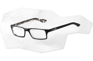 Arnette Arnette Roadie Eyeglasses, Top Black On White AN7035-0348