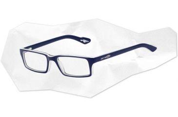 Arnette Arnette Roadie Eyeglasses, Top Blue/White/Blue Transparent AN7035-0548