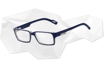 Arnette Arnette Sync Eyeglasses, Top Blue/White/Blue Transparent AN7039-0147