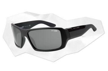 Arnette Big Deal Sunglasses - Matte Grey Frame and Grey Lens AN4168-05