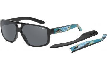 Arnette Fat City Sunglasses, Fuzzy Black AN4189-03