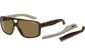 Arnette Fat City Sunglasses, Fuzzy Havana AN4189-04