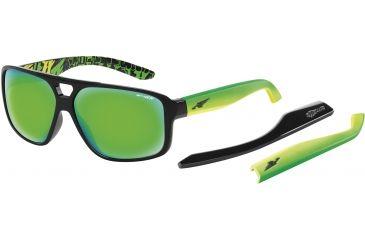 Arnette Fat City Sunglasses, Gloss Black AN4189-05