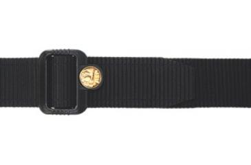 ASP 1.5in Logo Belt,Small,Black 100