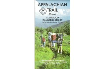At Va Map 4 Glenwood District, A.t.c., Publisher - Ap Trail Conservancy