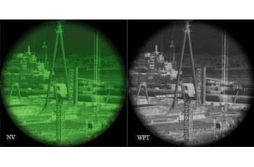 ATN WPT Technology Compare to Regular Night Vision