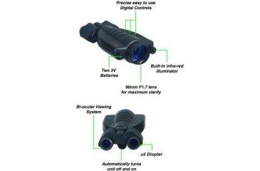 ATN Night Shadow IV Generation Night Vision Devices NVBNNSDW40 (12165)