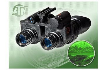 ATN PS-23-3P Night Vision Goggles with ITT Pinnacle Image Intensifier Tubes NVGOPS233P
