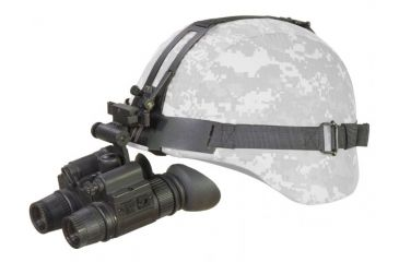 ATN PS15 Night Vision Goggles Head Gear on Helmet