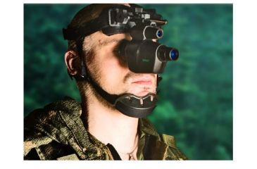 ATN Viper Generation 1+ Night Vision Scope, Black w/ Head Gear Mount NVGOVIPR10